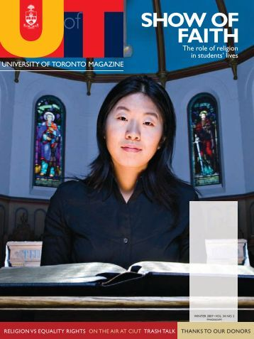 SHOW OF FAITH - University of Toronto Magazine
