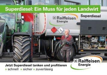Superdiesel: Ein Muss für jeden Landwirt