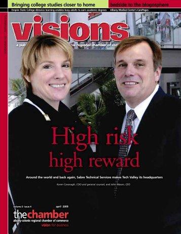 High Reward - Albany Colonie Regional Chamber of Commerce