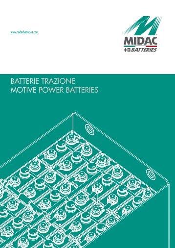 Catalogo batterie trazione