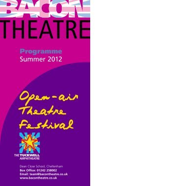 PG - Bacon Theatre