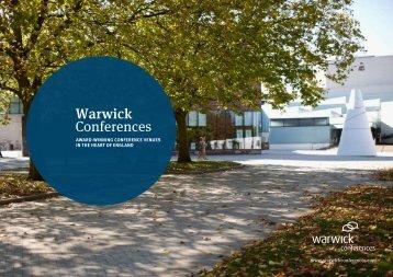 Warwick Conferences