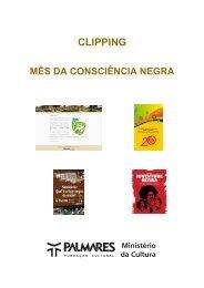 Capa e Índice - Fundação Cultural Palmares