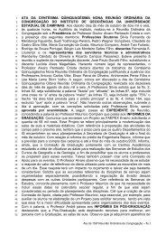 159ª Reunião Ordinária, realizada em 18/10/2006