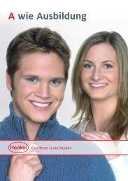 Anforderungen Ausbildung - Henkel