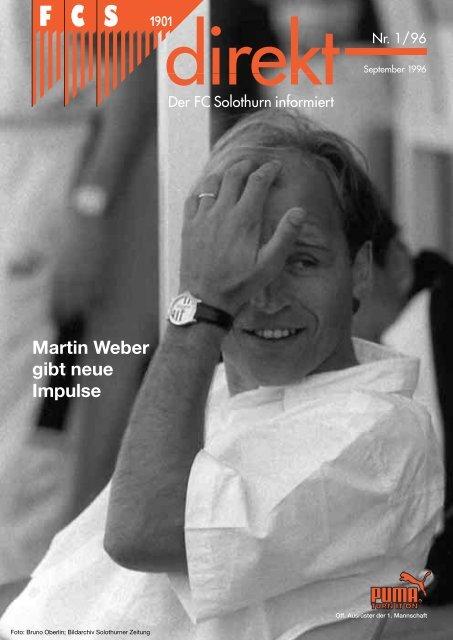 Martin Weber gibt neue Impulse - FC Solothurn
