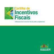 Cartilha de Incentivos Fiscais - Unimed do Brasil