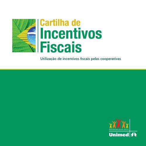Cartilha de Incentivos Fiscais - Unimed do Brasil