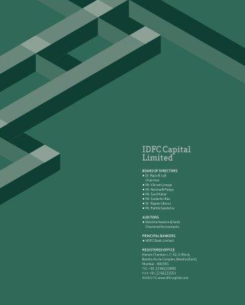 IdfC Capital Limited