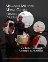 Managing Municipal Marine Capture Fisheries in ... - Oneocean.org