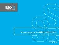 Plan stratégique de l'INESSS 2012-2015