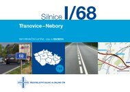Silnice i/68 třanovice–nebory - Ředitelství silnic a dálnic