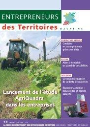 Lancement de l'étude AgriQuadra dans les entreprises Lancement ...