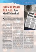 ISU KALIMAH ALLAH - Jabatan Kemajuan Islam Malaysia - Page 4