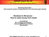 Residues to Revenues : How to make money from waste
