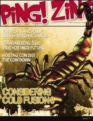 Zine Magazine - Ping! Zine Web Tech Magazine