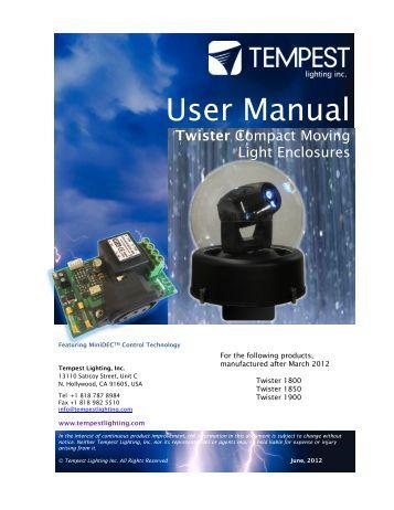 Twister - Tempest Lighting, Inc.