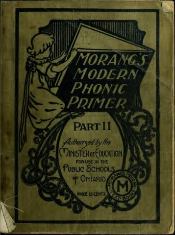 A Modern Phonic Primer: part II