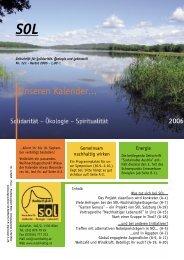 Der Kalender 2006
