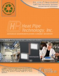 25Over rs - Heat Pipe Technology, Inc.