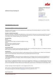 Årsregnskabsmeddelelse 2012 Scandinavian Brake Systems A/S ...