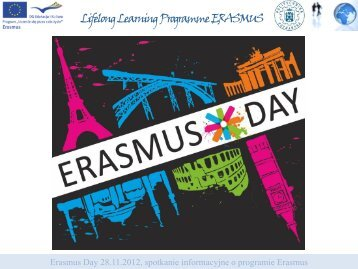 Lifelong Learning Programme - Erasmus