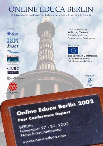 Online Educa Berlin 2002