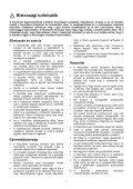 Biztonsági tudnivalók - Selectro - Page 3