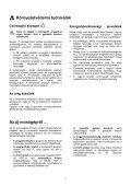 Biztonsági tudnivalók - Selectro - Page 4