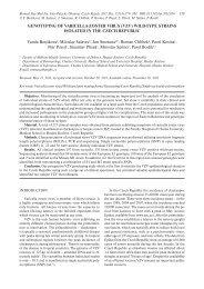 Biomed Pap Med Fac Univ Palacky Olomouc Czech Repub. 2011 ...