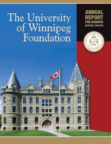 REPORT REPORT REPORT - University of Winnipeg