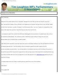 Tim Loughton MP for East Worthing and Shoreham - Loughton, Tim