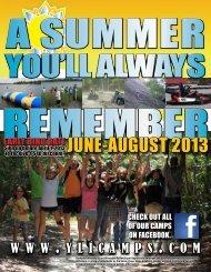 JUNE-AUGUST 2013