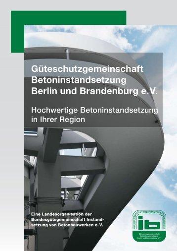 Güteschutzgemeinschaft Betoninstandsetzung Berlin und ...