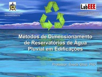 Métodos de Dimensionamento de Reservatórios ... - LEB/ESALQ/USP