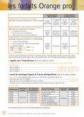 Tarifs en vigueur au 3 juillet 2003 - Orange mobile - Page 6