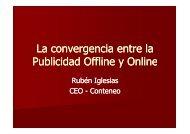 Convergencia Publicidad Offline y Online [Modo ... - Marketing on Tour