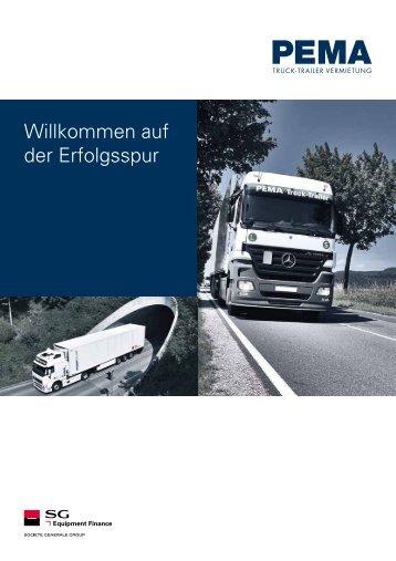 Willkommen auf der Erfolgsspur - PEMA GmbH
