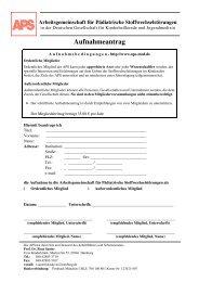 Einzugsermächtigung - Arbeitsgemeinschaft für Pädiatrische ...