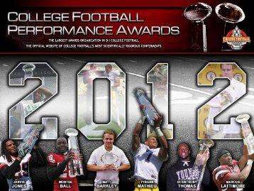 2012 CFPA FCS Awards Watch List - College Football Performance ...