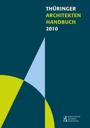 THÃœRINGER ARCHITEKTEN HANDBUCH 2010