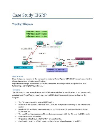 chapter 6 lab 6-5 bgp case study answers