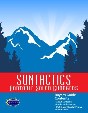 solar charger buying guide suntactics1.0