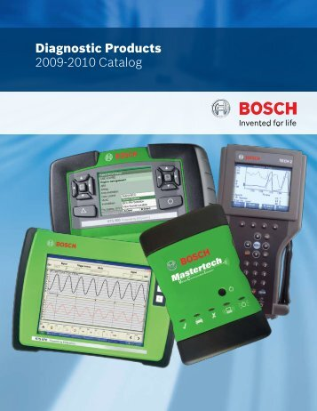 Diagnostic Products 2009-2010 Catalog - Mercado-ideal