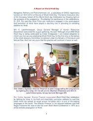 World Hindi Day (English Report) - Mangalore Refinery and ...
