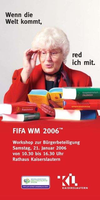 Anmeldung: Workshop zur Bürgerbeteiligung - Stadt Kaiserslautern