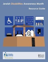 Jewish Special Education Resource Guide