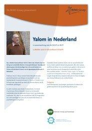 Yalom in Nederland - RINO Groep