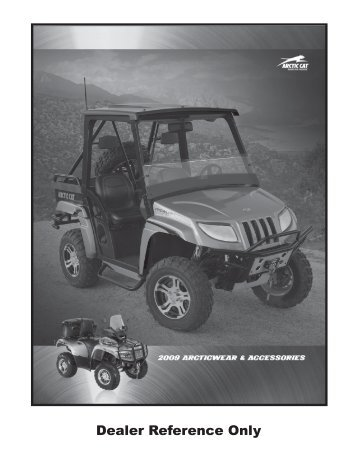 Dealer Reference Only - Arctic Cat