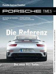 Ausgabe 2/13 - Porsche Zentrum Frankfurt